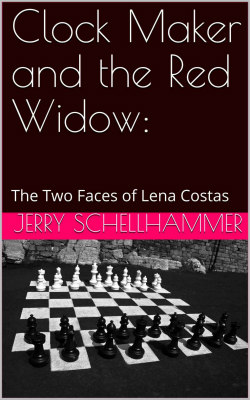 New Release - Clock Maker and the Red Widow - Lena Costas - Jerry Schellhammer